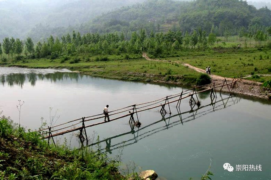 【崇阳美文】庞雄辉:村前那座独木桥