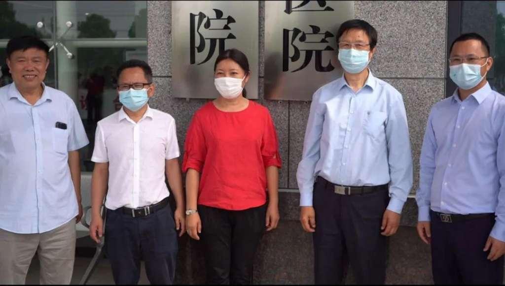 """热烈祝贺--""""崇阳颐和医院与武汉普瑞医院技术合作揭牌仪式"""""""