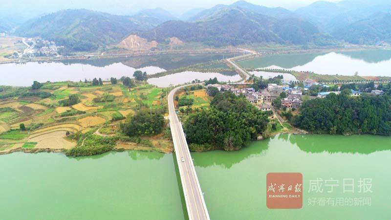 崇阳茅井村发展生态旅游建设美丽乡村